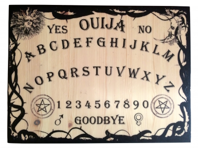 Ouija with Boarder front
