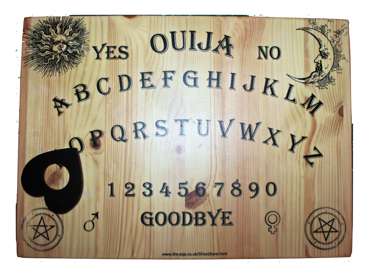 how to play ouija board