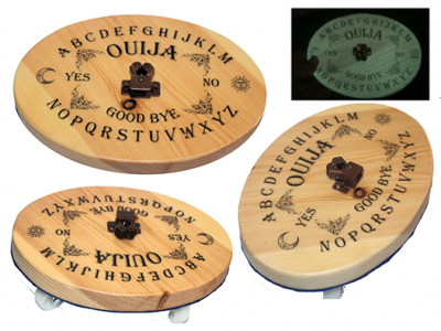 ouija design automatic writing planchette