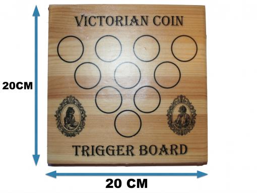 Trigger board Front measurements