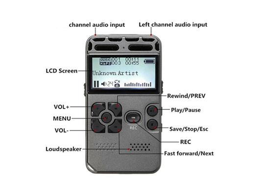 EVP Recorder 8Gb