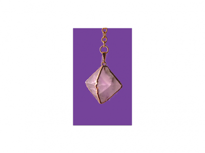 Pink Fluorite Pendulum