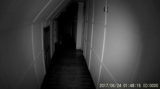 Night vision picture using body cam