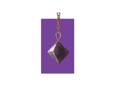 Purple Fluorite Pendulum