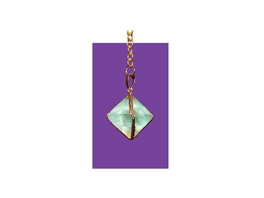 Fluorite Pendulum Green
