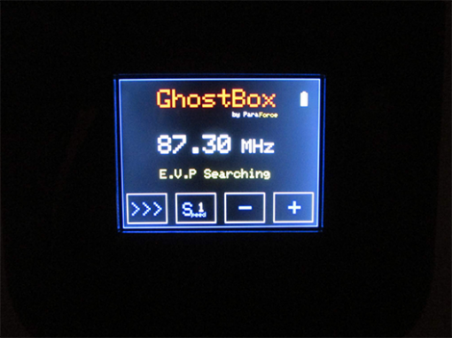 Ghost Box display 395