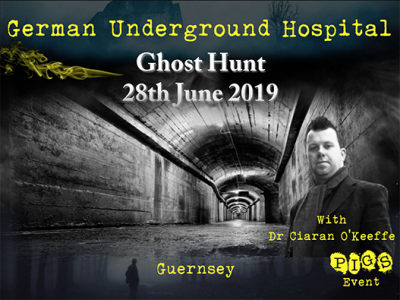 German Underground Hospital Ghost hunt 28th June 2019