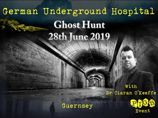 German Underground Hospital Ghost hunt 28th June 2019