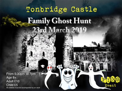 Tonbridge Castle Family Ghost Hunt